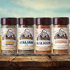 Seasonest Classic Variety 4-Pack Medium Heat ORGANIC Spice Gift Set-Spicy Chicken Rub,BBQ and Seasoning,Vegan,Soul Food & Cajun,Paleo,Vegan,Ketogenic -- Read more reviews of the product by visiting the link on the image.