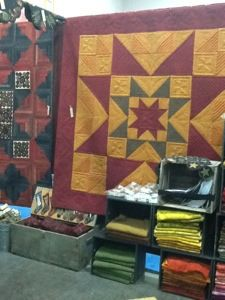 one of the quilts from Primitive Gatherings new book