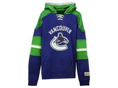 Vancouver Canucks NHL Youth Vintage Hoodie