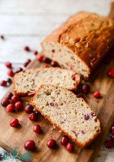 This cranberry pecan quick bread is delicious, easy, and full of holiday flavors.  It makes the perfect homemade gift for friends and neighbors.