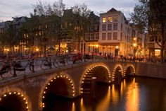 Amsterdam - I visited Amsterdam, when I went to see my brother, who was studying in The Netherlands at the time.