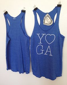 Yoga Love Tanks, pinned mainly for @Franquie Rhodes