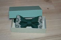 Bowties, Decorative Boxes, Gift Wrapping, Embroidery, Gifts, Tejidos, Paper Wrapping, Needlework, Presents