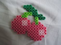 Cherries perler bead by *PerlerHime on deviantART