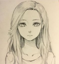 New amazing art drawings doodles ideas Anime Drawings Sketches, Pencil Art Drawings, Anime Sketch, Manga Drawing, Cute Drawings, Drawing Tips, Drawing Ideas, Sad Girl Drawing, Sketchbook Drawings