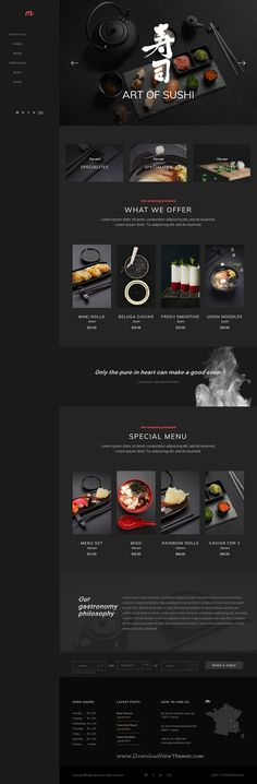 Morsel is clean and modern design responsive #WordPress theme for delicious #sushi #bar #restaurant and cafes website with 12 fully adaptable homepage layouts download now..