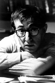 """Woody Allen in 1967 (Perhaps making one of his """"earlier, funnier movies"""")"""
