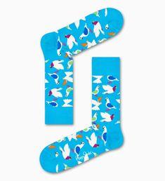 Happy Socks, Pigeon, Floral Tie, Barn, Cotton, Accessories, Fashion, Moda, Converted Barn