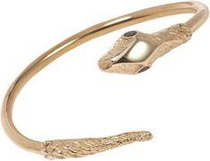 Jennifer Fisher Brass Large Snake Cuff