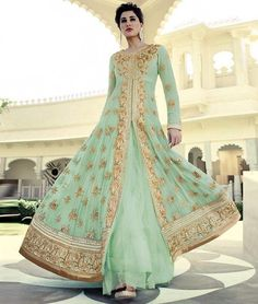 #Eid Al-Fitr Sale:  Get Flat 12% Off On #Beautiful #NargisFakhri #Bollywood #AnarkaliSuit. Check more collection at: - http://www.shoppers99.com/bollywood/nargis_fakhri_bollywood_anarkali_suits