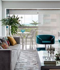 Apartamento em Recife com decoração masculina - Casa