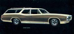 1968 Pontiac Tempest Safari Station Wagon. I kinda like the front-end and the mag wheels rock. Chrome Wheels, Car Wheels, Bmw Touring, Beach Wagon, Pontiac Tempest, Pontiac Cars, American Classic Cars, Covered Wagon, Ford Shelby