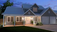 Storybook - 3 bedroom 2 storey cottage design