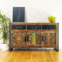 Urban Chic Large Sideboard (three drawer, three door)