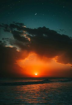 Sunset beach wallpaper – - Home Amazing Sunsets, Amazing Nature, Beach Sunset Wallpaper, Sunset Beach, Sunrise And Sunset, Beach Night, Ocean Wallpaper, Nature Wallpaper, Strand Wallpaper