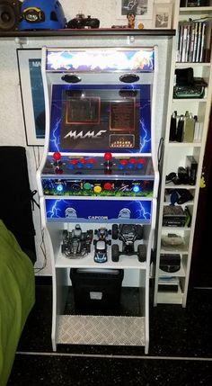 New Bartop - BartopShop Arcade Bartop, Arcade Games, Programming, Man Cave, Videogames, Geek Stuff, Star Wars, Arcade Room, Consoles