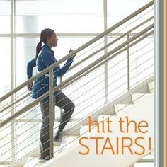 Take the Stairs! 7 Moves for a Stair Workout Climbing Stairs Workout, Stair Climbing, Easy Workouts, At Home Workouts, Workout Exercises, Fitness Workouts, Fitness Diet, Health Fitness, Dancer Legs