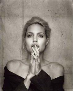 Angelina Jolie by Dan Winters #polkipl