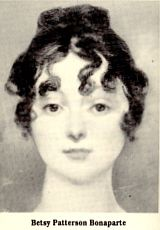 betsybonaparte On a visit to America, Jérôme Bonaparte, brother of Napoleon Bonaparte, met and married her (1803). Jérôme was a minor, and Napoleon refused to recognize the marriage. When Jérôme returned (1805) to France, his wife was forbidden to land and went to England, where her son, Jerome Napoleon Bonaparte, was born. Napoleon issued (1806) a state decree of annulment for his brother, and Elizabeth Patterson was given a large annual pension.
