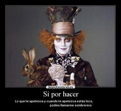 el sombrerero loco wallpapers - Buscar con Google Halloween 2014, Halloween Hair, Halloween Costumes, Tim Burton Costumes, Johnny Depp Mad Hatter, Were All Mad Here, Rabbit Hole, Hare, Bing Images