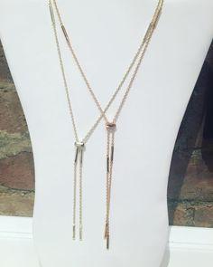 Gold or Rose Gold.  Kendra Scott Finnegan necklace- $85  #madisonsbluebrick #downtownhotsprings #kendrascott #jewelry #necklace
