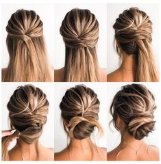 Charming Spring Bride Updo Tutorials For Long Hair … – Hair Updos Updo Hairstyles Tutorials, Wedding Hairstyles Tutorial, Wedding Guest Hairstyles, Up Hairstyles, Bridal Hair Tutorial, Bridal Hairstyles, Summer Hairstyles, Hairstyle Ideas, Easy Homecoming Hairstyles