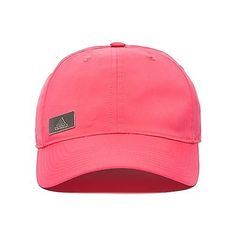 adidas-Performance-Womens-Metal-Logo-Cap-Pink-One-Size-Adjustable