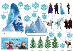 1 million+ Stunning Free Images to Use Anywhere Frozen Theme, Frozen Birthday Party, Frozen Party, Frozen Cupcake Toppers, Frozen Cupcakes, Candy Bar Frozen, Disney Princess Cupcakes, Bolo Frozen, Frozen Castle