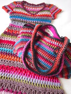 VMSom Ⓐ Koppa: Crocheted BAG