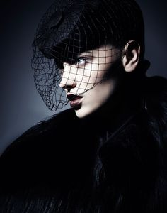 Mila Krasnoiarova - The Baroness, 2012  Hugo Arturi  www.hugoarturi.com  via fashiongonerogue.com    for : composition, motion, light