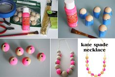 Kate Spade's Rosewood Dot Necklace   26 Designer Knock-Off DIYs That Cost Way Less Than The Real Thing