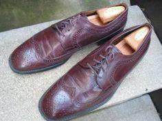 Vintage Cosani Burgundy Oxfords Mens Used by VintageClassicWares, $50.00