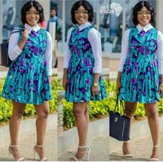 Top Ten Lovely Ankara Styles You Will Love To Rock Dabonke African Inspired Fashion, African Print Fashion, African Fashion Dresses, Fashion Outfits, Ankara Fashion, African Prints, Fashion Styles, Fashion Fashion, Ankara Clothing