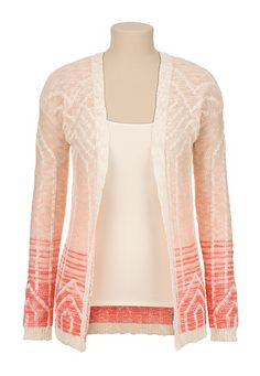 Ombre Open Front Cardiwrap (original price, $39) available at #Maurices