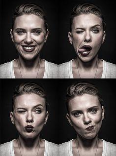 Andy Gotts - Scarlett Johannson