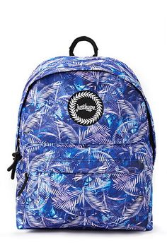 Just Hype Palm Graphic Backpack