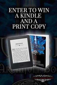 Amazon Kindle 6-inch Worldwide Giveaway!
