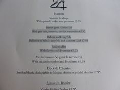 Lizzie Enfield visits 24 St Georges in Kemptown to report back on their outstanding value for money set menu. September 2015.