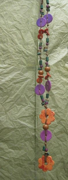#necklace # ceramic #jewelry #handmade