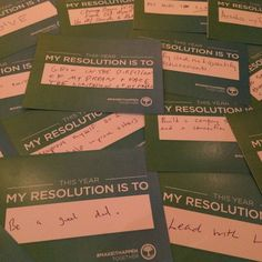 Charles and Lynn Schusterman Family Foundation // My Resolution is To... Icebreaker Cards