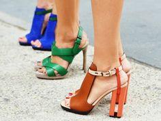 color heels