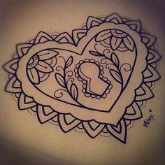 43 Best Ideas for tattoo heart traditional chest piece Key Tattoos, Music Tattoos, Arrow Tattoos, Flower Tattoos, Sleeve Tattoos, Tatoos, Locket Tattoos, Hand Tattoos, Trendy Tattoos