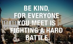 Be Kind. This is a very true statement. We try to help those who need it with logbook loans, a fast new way to get cash. Sometimes, life is tough! We're here for you when you need it! Check out http://www.loans2go.co.uk to find out how you can get up to £5,000 at just a moment's notice.