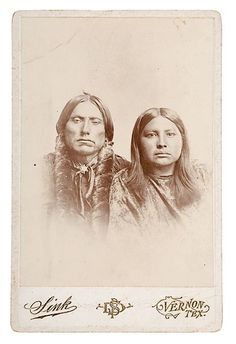 QUANAH AND HIS WIFE TONARCY