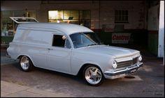 ◆ Visit MACHINE Shop Café... ◆ ~ Aussie Custom Cars & Bikes ~ (The 1964 EH Holden Panel Van)