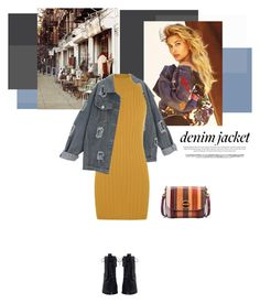 """""""Denim Trend: Jean Jacket"""" by mycherryblossom ❤ liked on Polyvore featuring WALL, WearAll, Zimmermann, Tory Burch, jeanjackets, polyvoreeditorial, polyvorestyle and fallfashion"""
