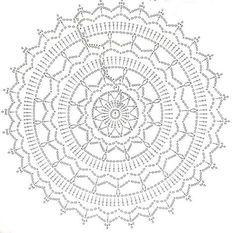 Crochet+Mandala+Chart.jpg 736×727 piksel