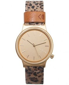 Komono - Wizard Print Watch (Leopard) - $75