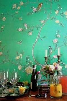 爱 Chinoiserie? 爱 home decor in chinoiserie style - Griffin & Wong: Song Sassoon Installation