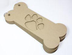 Dog Bone Chipboard Album
